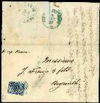 Russische Post in der Levante 1868