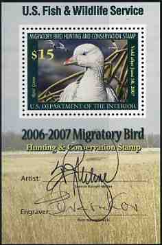 Duck stamps 2006