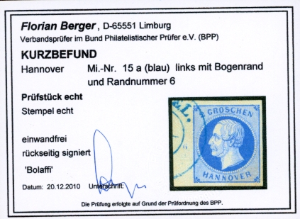 Befund Berger BPP