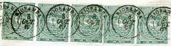 scan of the stamps